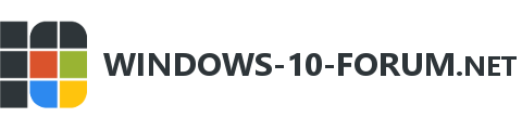 Windows-10-Forum.net — Das deutschsprachige Win 10 Forum